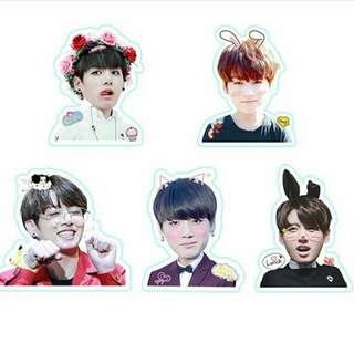 Jungkook sticker set