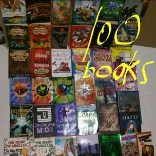 Box 1B cheap young children primary school teen story books novels