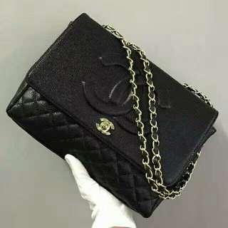 Chanel Timeless Caviar Black