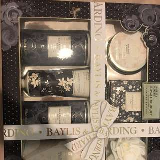 Limited edition bath gift set