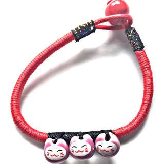 Lucky cat Maneko Neki bracelet