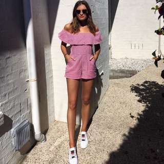 Pepper mayo playsuit