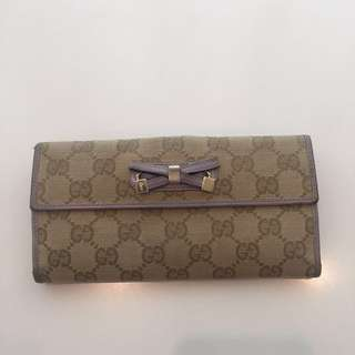 (+ gifts) Used Gucci Wallet ( 100% Genuine)