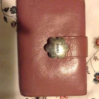 FIORI pink wallet