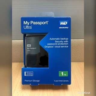 1TB HDD - WD My Passport Ultra
