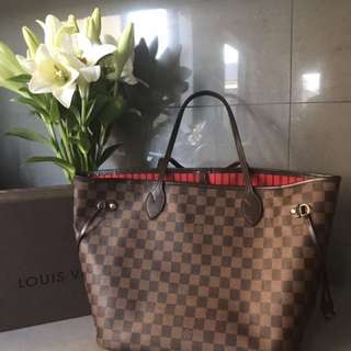 Louis Vuitton Never full MM (reduced price)