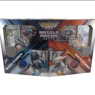 Black kyurem white kyurem battle arena box