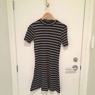 Stripy A-line Dress #under20