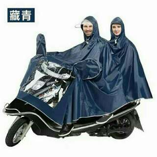 Double Motorcycle Raincoat