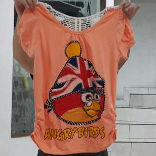 Baju Fashion Angry Bird