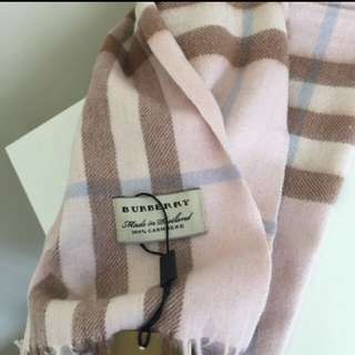 Buberry Scarf 170 x 33cm Pink