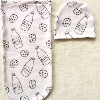 Baby cocoon swaddle