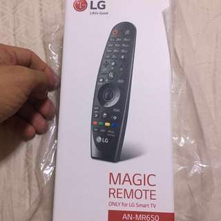LG Magic Remote with warranty (FREE DELIVERY)