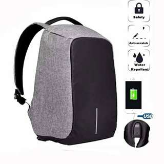 Premium Anti-theft water-resistant bag with charging dock
