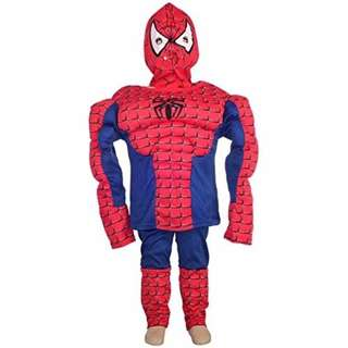 Boys Halloween Spiderman Muscle Superhero Fancy Party Costume