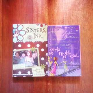 2 books (Sisters Ink, Girls' Night Out)