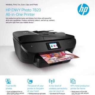 全新未開封HP7820打印機