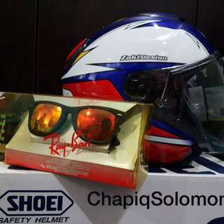 Shoei J-Cruise Zulfahmi