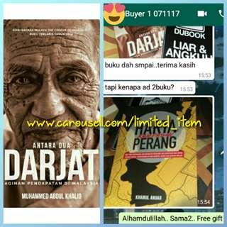 (+FREE GIFT) Buku Antara Dua Darjat Agihan Pendapatan di Malaysia karya Muhammed Abdul Khalid