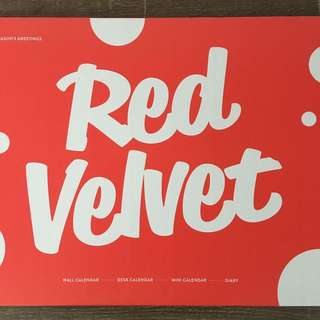 Red Velvet 2017 Seasons Greetings