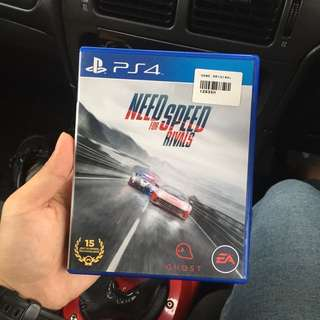 Ps4 games Need for speed rivals
