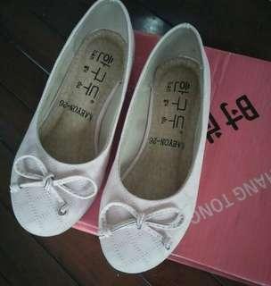 Flatshoes Anak Pink