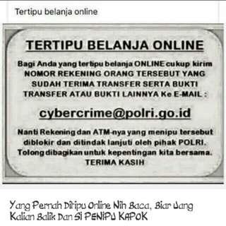 Tertipu belanja online
