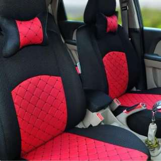 Preorder Cover Car Seat (Red Black)