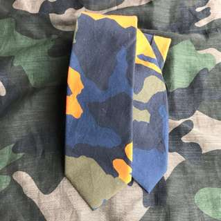 givenchy camouflage tie