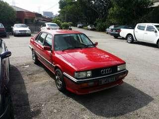 1985 year Audi 90 QuatTTro 4wd 5cyl