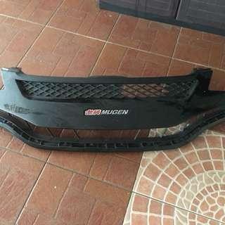 Honda jazz gk mugen front grill