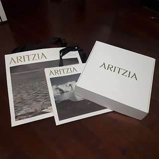 Aritzia bags and box