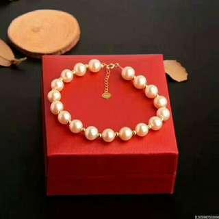 天然淡水珍珠手鍊