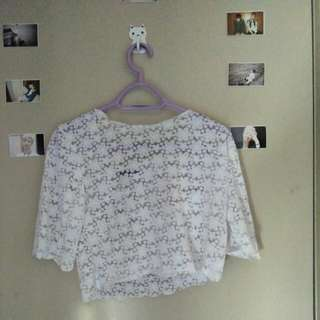 Lace croptop