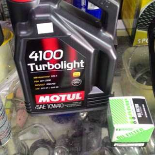Motul Turbolight 4100