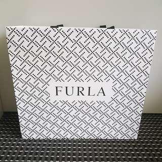 Furla empty shopping bag