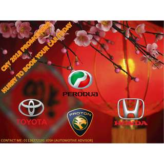 CNY 2018 SUPER DISCOUNT CARS