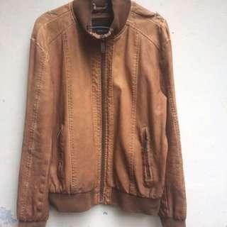 Jacket kulit Zara Man