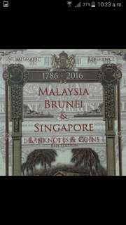 2016 Malaysia Brunei Singapore Banknotes & Coins 8th Edition Numismatic Reference Catalogue Book by K.N. Boon