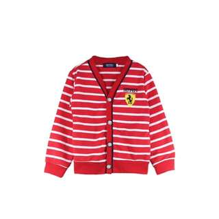 (Ready stock)Ferrari Red Stripes Cardigan