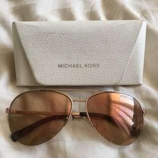 Michael Kors Rose Gold Aviator