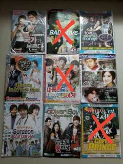 Dvd drama korea mandari