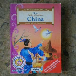 """WORLD'S GREAT FAIRY TALES """"Fables Of Ancient China"""""""