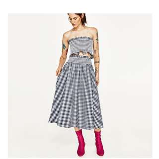 Zara gingham set small topshop zimmermann princess polly realisation par rat and & boa maurie eve manning cartell bec bridge