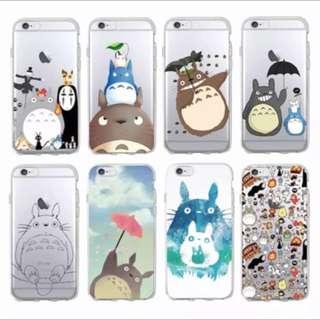 Totoro/ Spirited Away Soft Case