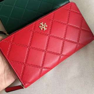 Tory Burch Georgia Zip Continental Long Wallet