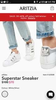 Adidias Superstar Sneakers