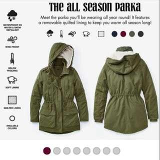 Garage Fall/Winter Coat