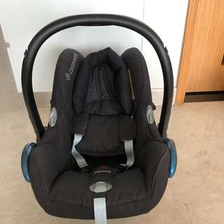 Maxi-Cosi Carbiofix Infant Car Seat (Black Diamond)