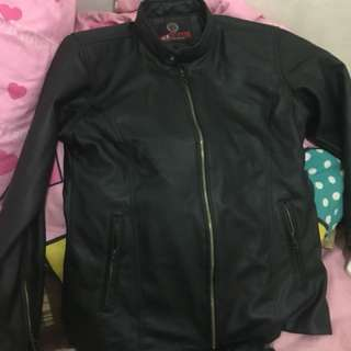 Jaket kulit import